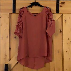 Lace sleeve detailed Tunic